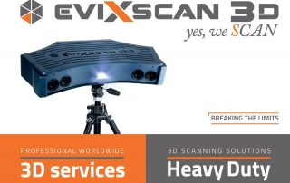 EviXscan 3D Scanner catalogue
